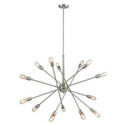 Kira 14 - Light Sputnik Sphere Chandelier - Wayfair