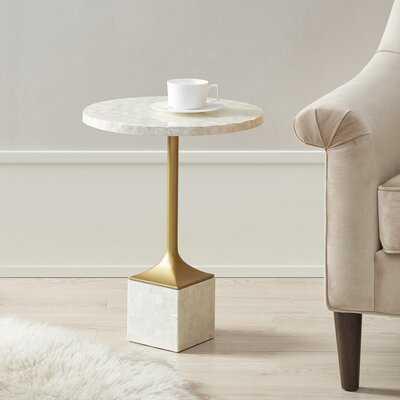 Maxwell Pedestal End Table - Wayfair