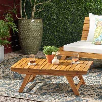 Bullock Outdoor Coffee Table - Wayfair