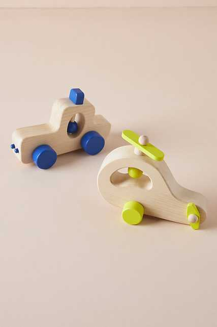 Wooden Vehicle Toy By Anthropologie in Green - Anthropologie