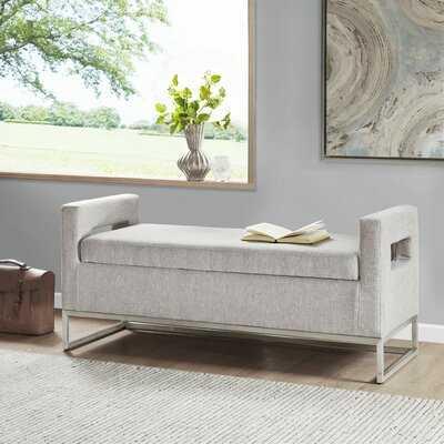Pelton Upholstered Storage Bench - Wayfair