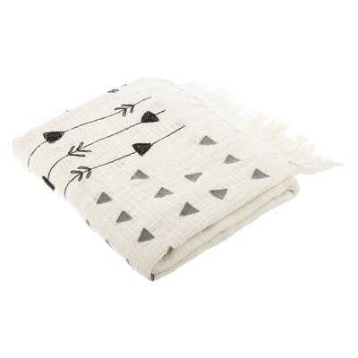 Nikia Cotton Blanket - AllModern