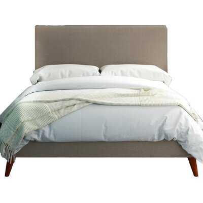Williams Tufted Upholstered Low Profile Platform Bed - Wayfair
