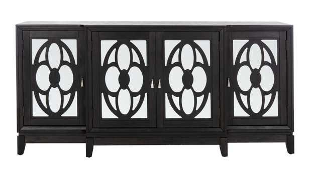 Madeleine Mirrored Sideboard - Black - Arlo Home - Arlo Home
