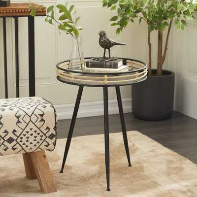 Nicolle Tray Top 3 Legs End Table - Wayfair