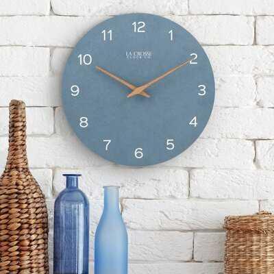"Tahoe 12"" Wall Clock - Wayfair"