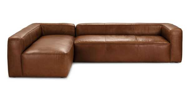 Mello Taos Brown Left Arm Corner Sectional - Article