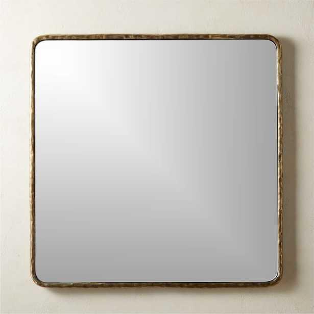 Colusa Large Square Mirror - CB2