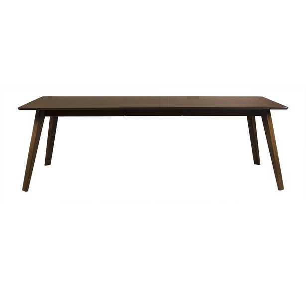 "Alton Extendable Dining Table Color: Walnut, Size: 29"" H x 72"" L x 36"" W - Perigold"