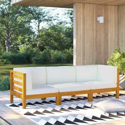 Korbin 3 Piece Sofa Seating Group with Cushions - AllModern