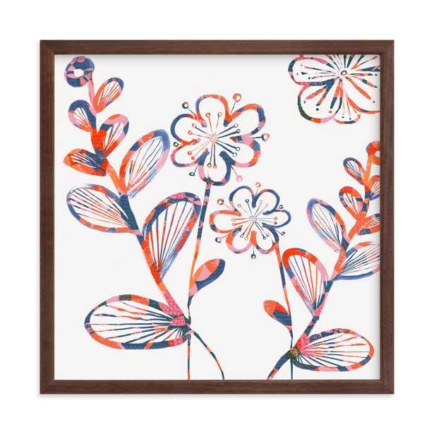 Flower Power Bloom Children's Art Print - Minted