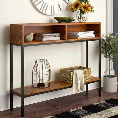 "Ashton 42"" Solid Wood Console Table - Wayfair"