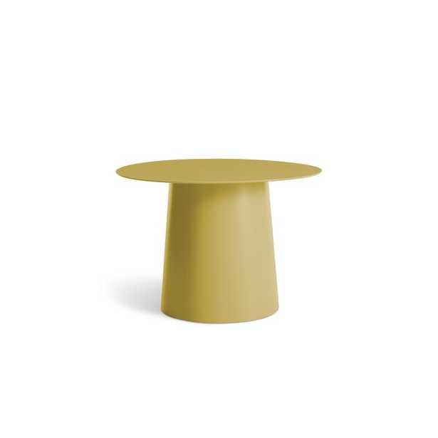 Blu Dot Circula Low Side Table Color: Ochre - Perigold