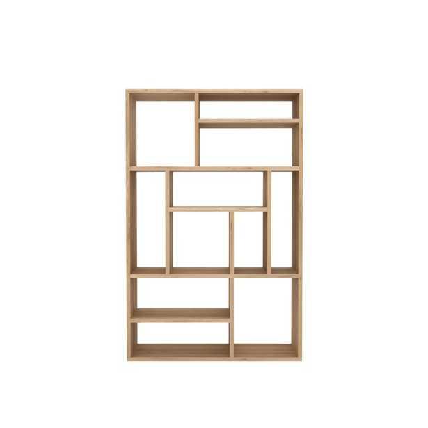 Ethnicraft Geometric Bookcase - Perigold