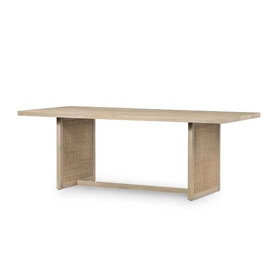 Modern Rattan Dining Table - Natural - West Elm