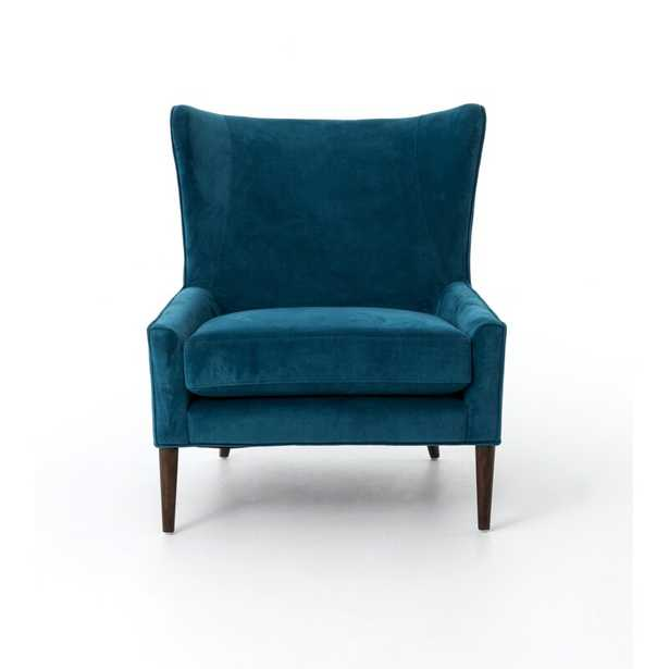 Four Hands Marlow Wingback Chair Fabric: Bella Bayoux - Perigold