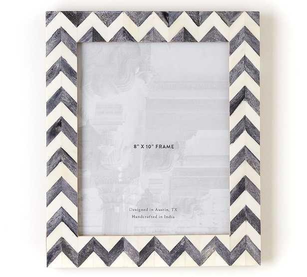 "Bodhi Bone Picture Frame, Gray, 8"" x 10"" - Pottery Barn"