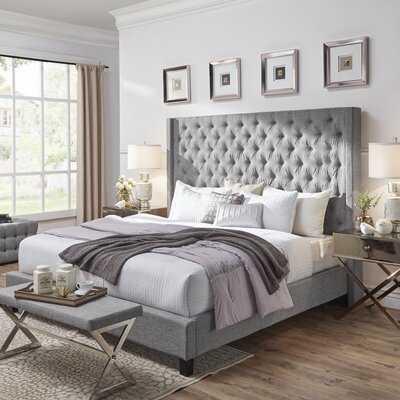 Cassville Tufted Upholstered Low Profile Platform Bed - Wayfair