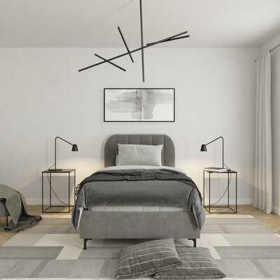 Perrine Upholstered Platform Bed - AllModern