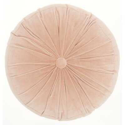 Gaelle Cotton Round Throw Pillow - AllModern