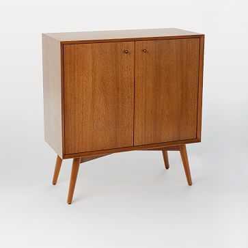 Mid-Century Small Cabinet, Acorn - West Elm