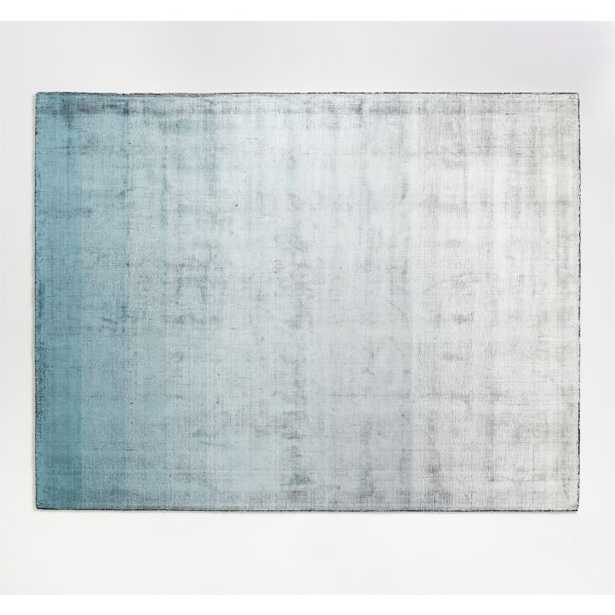 Dineen Rug Blue 9'x12' - Crate and Barrel