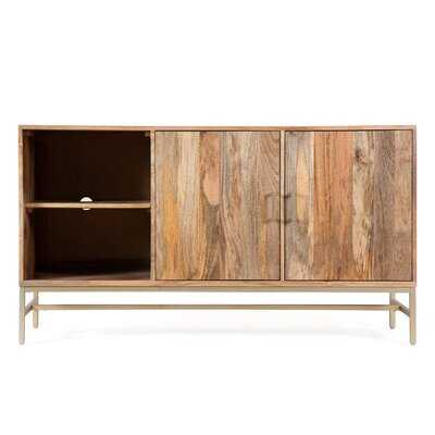 Anoka Solid Wood TV Stand for TVs up to 55 inches - AllModern