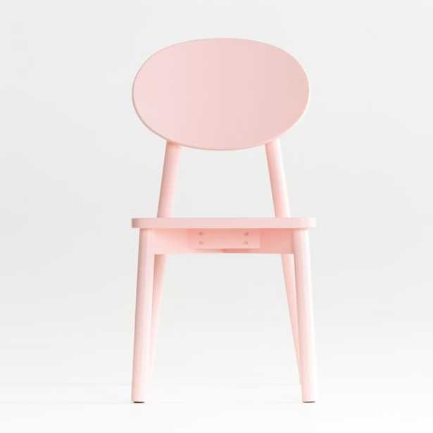 Kelsey Pink Play Chair - Crate and Barrel