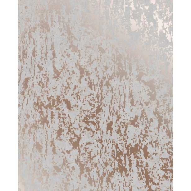 Super Fresco Milan Texture Rose Gold and Grey Removable Wallpaper, Grey/Rose Gold - Home Depot