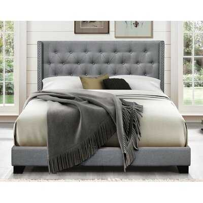 Aadvik Tufted Upholstered Standard Bed - Wayfair
