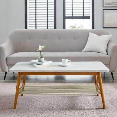 Edmondson Coffee Table with Storage - Wayfair