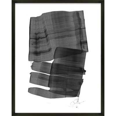Brushstroke 5 by Jacques Pilon - Picture Frame Painting Print on Paper - AllModern