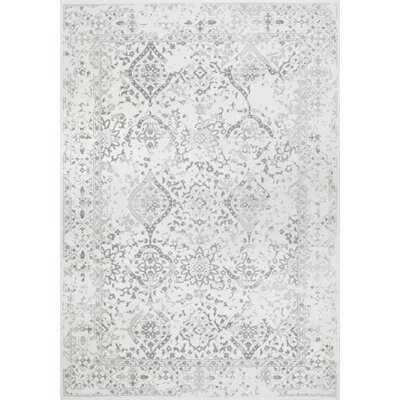Youati Floral Ivory/Gray/Cream Area Rug - Wayfair