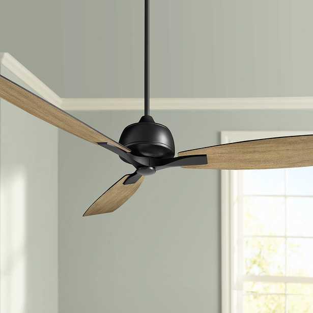 """60"""" Oxygen Juno Black Ceiling Fan - Style # 83F55 - Lamps Plus"""