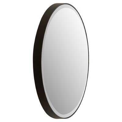 Burnett Modern & Contemporary Beveled Round Accent Mirror - AllModern