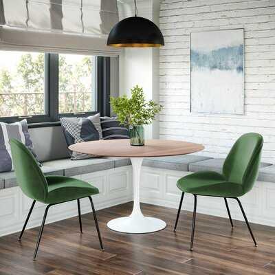 Beijing Velvet Upholstered Side Chair - Wayfair