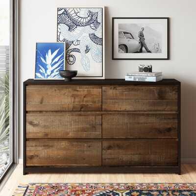 Augustus 6 Drawer Double Dresser - AllModern