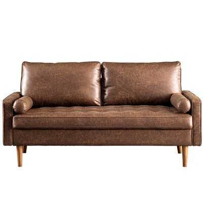 Garzon 69.68'' Square Arm Loveseat - Wayfair