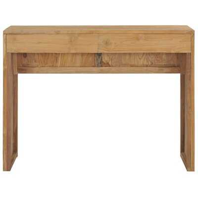 """Lobdell 39.4"""" Solid Wood Console Table - Wayfair"""