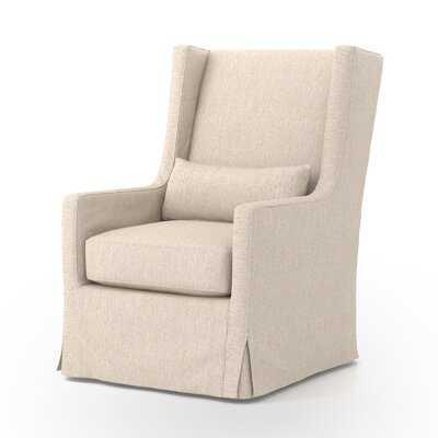 Kay Swivel Wingback Chair - Wayfair