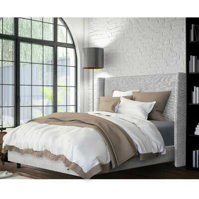 Keaton Upholstered Panel Bed - Birch Lane