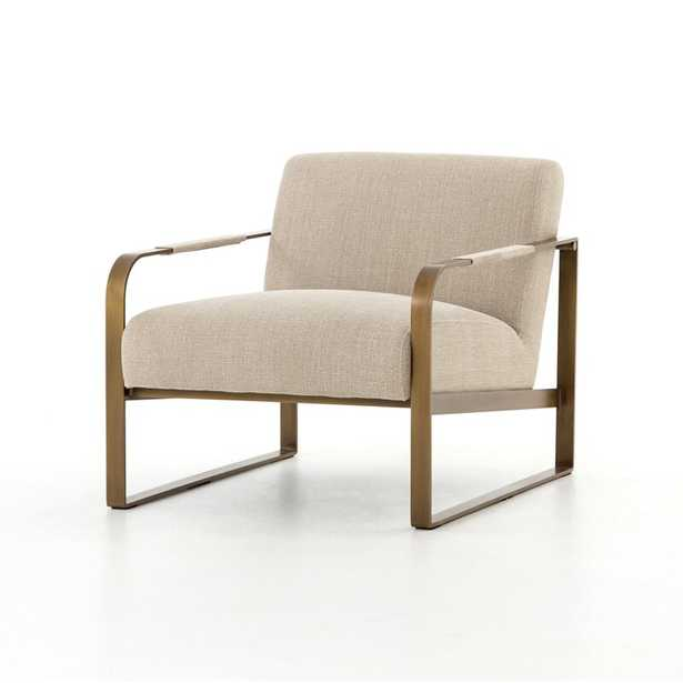 Four Hands Irondale Armchair Upholstery Color: Beige - Perigold
