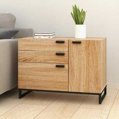 Cuomhouse Wood 3 Drawer Accent Chest - Wayfair