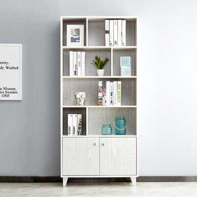 """Amy-Mae 68.5"""" W x 31.5"""" W Standard Bookcase - Wayfair"""