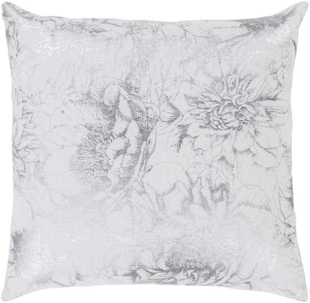 """Crescent - CSC-013 - 18"""" x 18"""" - with poly insert - Neva Home"""
