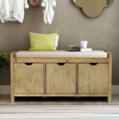 Gragg Cabinet Storage Bench - Wayfair