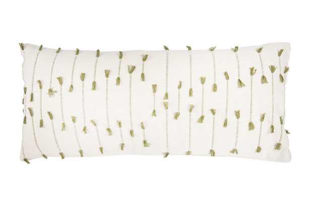"Ariah Lumbar Pillow, 16""x 36"" - Roam Common"