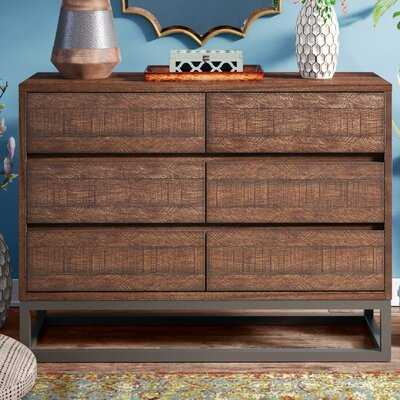 Natalia 6 Drawer Double Dresser - Birch Lane