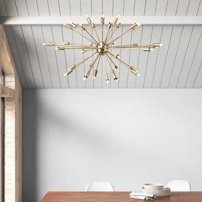Marnell 36 - Light Sputnik Modern Linear Chandelier - AllModern