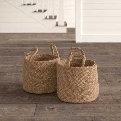 Coronado 2 Piece Basket Set - Birch Lane